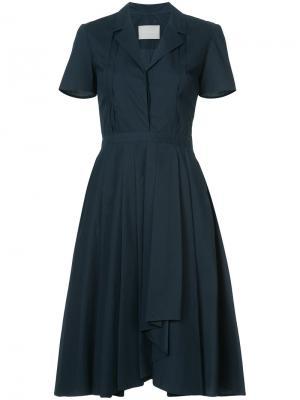 Платье-рубашка Jason Wu. Цвет: синий