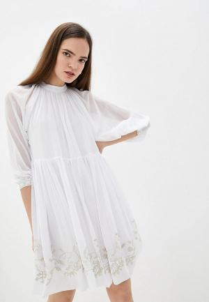 Платье Love Republic. Цвет: белый