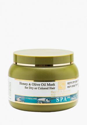 Маска для волос Health & Beauty. Цвет: прозрачный