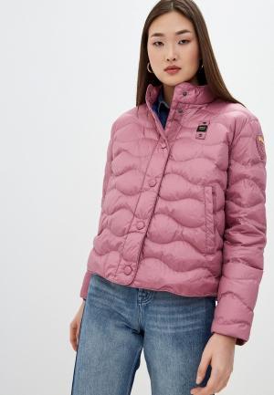Куртка утепленная Blauer USA. Цвет: розовый