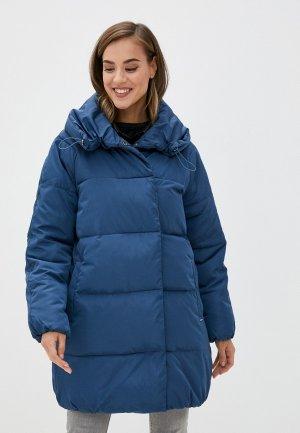 Куртка утепленная b.young. Цвет: синий