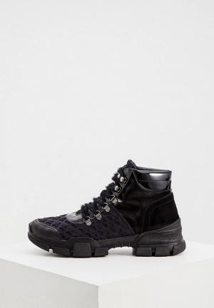 Ботинки L4K3. Цвет: черный