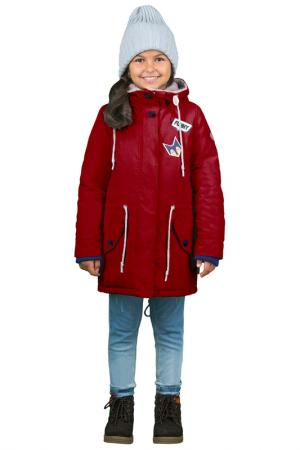 Куртка-парка BOOM. Цвет: красный
