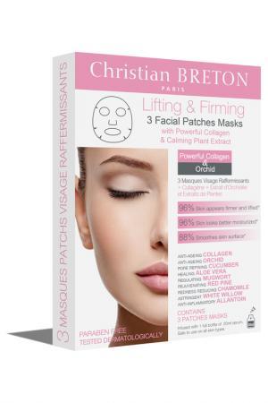 Маска для лица CHRISTIAN BRETON PARIS. Цвет: белый
