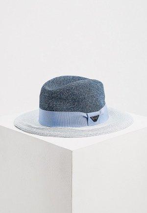 Шляпа Emporio Armani. Цвет: синий