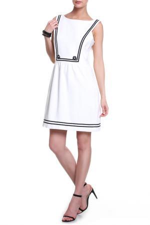 Платье Milly. Цвет: белый