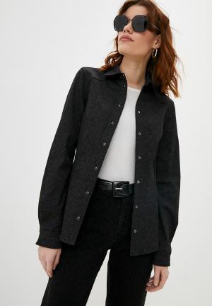 Рубашка джинсовая Karl Lagerfeld Denim. Цвет: черный