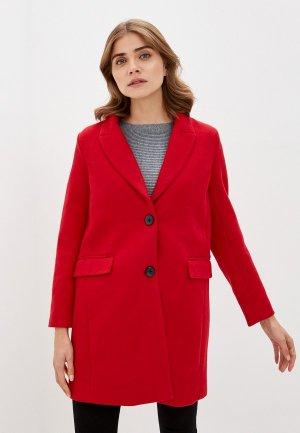 Пальто Zolla. Цвет: серый