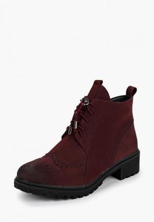 Ботинки Avenir. Цвет: бордовый
