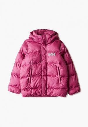 Куртка утепленная Helly Hansen. Цвет: розовый