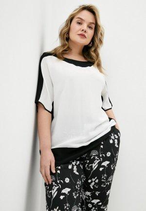 Блуза Elena Miro. Цвет: белый