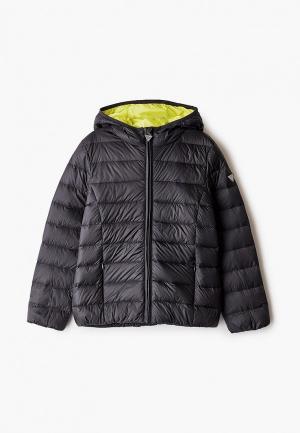 Куртка утепленная Guess. Цвет: черный