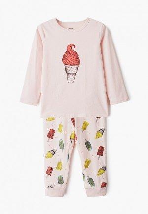Пижама Name It. Цвет: розовый