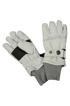 Перчатки DEVANCE. Цвет: светло-серый