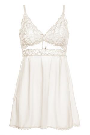 Ночная сорочка GRACIJA-RIM. Цвет: белый