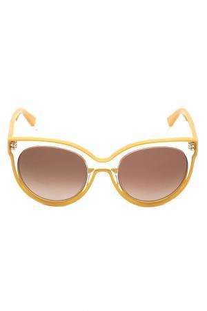 Очки солнцезащитные FURLA. Цвет: розовый
