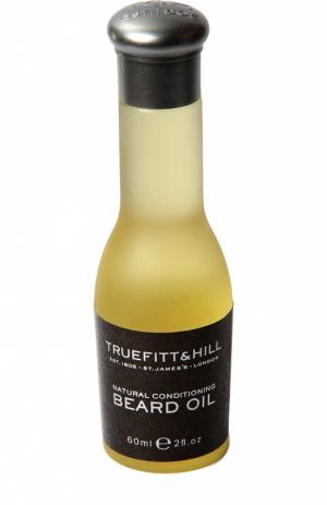 Натуральное кондиционирующее масло для бороды Truefitt&Hill. Цвет: бесцветный