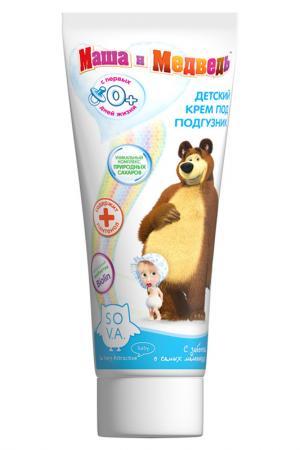 Крем под подгузник для детей в Маша и Медведь. Цвет: none
