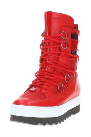 Ботинки HOGL. Цвет: красный