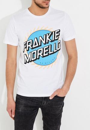 Футболка Frankie Morello. Цвет: белый