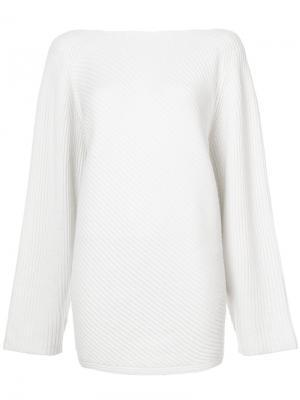 Asymmetrical Sweater Derek Lam. Цвет: белый