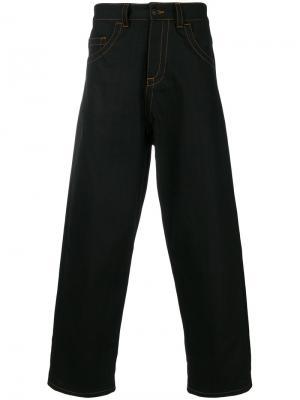 Широкие джинсы Craig Green. Цвет: чёрный