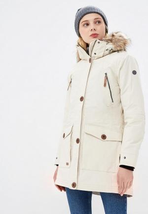 Куртка утепленная Five Seasons. Цвет: бежевый