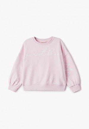 Свитшот OVS. Цвет: розовый