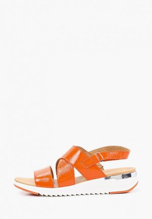 Сандалии Caprice. Цвет: оранжевый