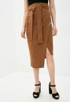 Юбка Forte Dei Marmi Couture. Цвет: коричневый