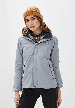 Куртка утепленная Berghaus. Цвет: серый