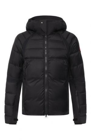 Пуховая куртка Hybridge Sutton на молнии с капюшоном Canada Goose. Цвет: черный