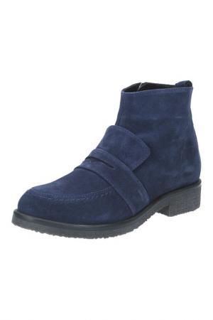 Ботинки BENTA. Цвет: синий