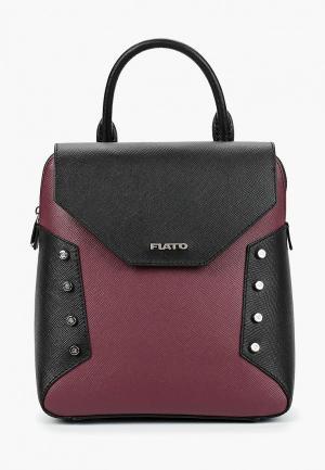 Рюкзак Fiato. Цвет: бордовый