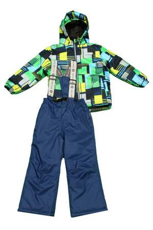 Костюм лыжный trouville COLOR KIDS. Цвет: синий