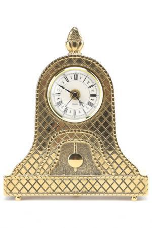 Часы, 21х17, 5 см Stilars. Цвет: золотой