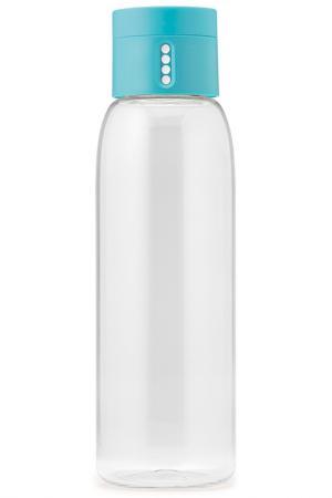 Бутылка для воды Dot 600 мл JOSEPHJOSEPH. Цвет: голубой