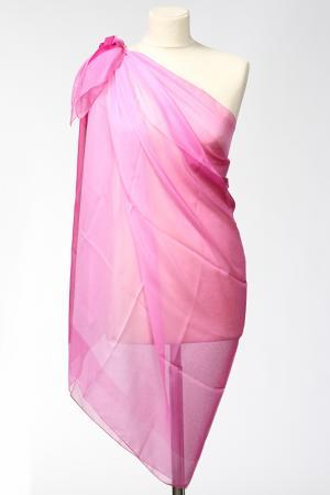 Парео F.FRANTELLI. Цвет: розовый