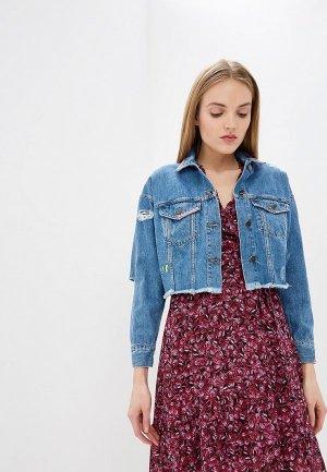 Куртка джинсовая Front Street 8. Цвет: синий