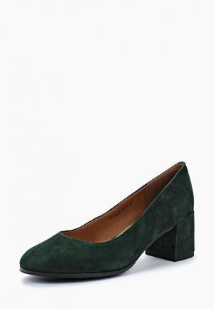 Туфли Francesco Donni. Цвет: зеленый