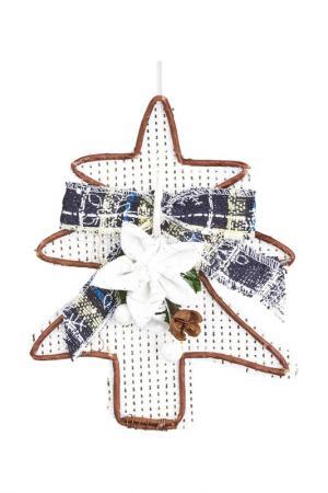 Рождественский декор-подвеска DUE ESSE CHRISTMAS. Цвет: белый