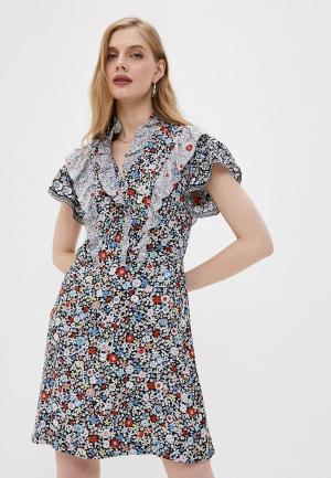 Платье See by Chloe. Цвет: разноцветный