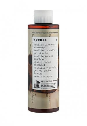 Гель для душа Korres. Цвет: белый