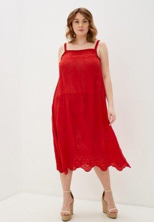 Сарафан Sophia. Цвет: красный