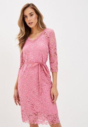 Платье Mamalicious. Цвет: розовый