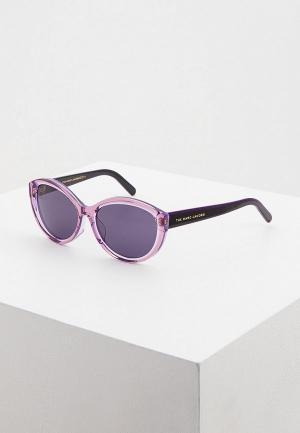 Очки солнцезащитные Marc Jacobs. Цвет: фиолетовый