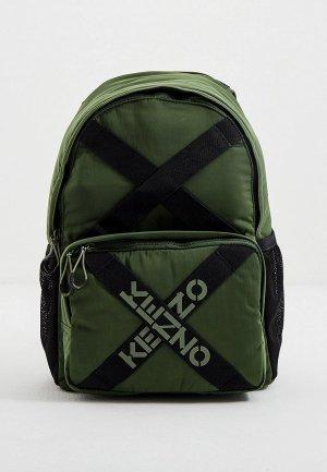 Рюкзак Kenzo. Цвет: зеленый