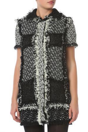 Платье LANVIN. Цвет: черный