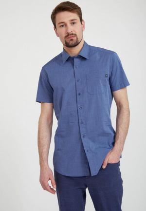 Рубашка Finn Flare. Цвет: синий