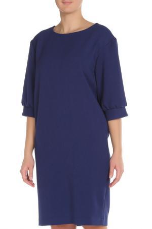 Платье Cyrille Gassiline. Цвет: темно-синий